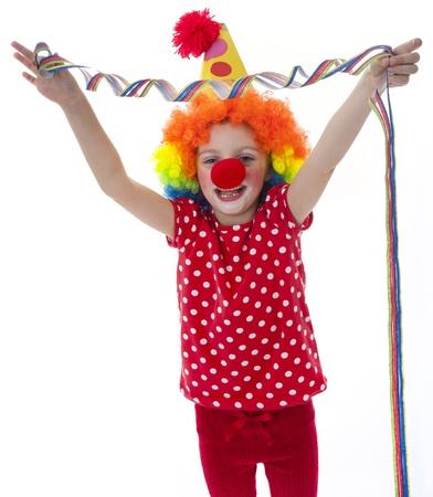 clown on a  white background Stock Photo - 18259176