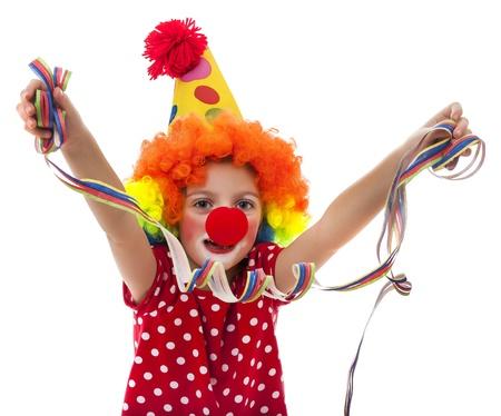 little happy clown Stock Photo - 18259177