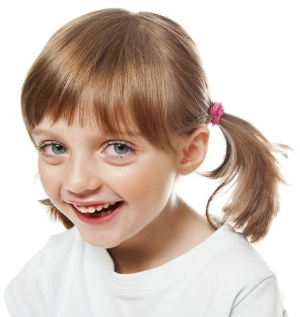 envisage: portrait of a happy little girl