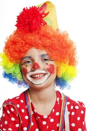 portrait of clown photo