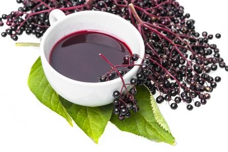elder herbal juice