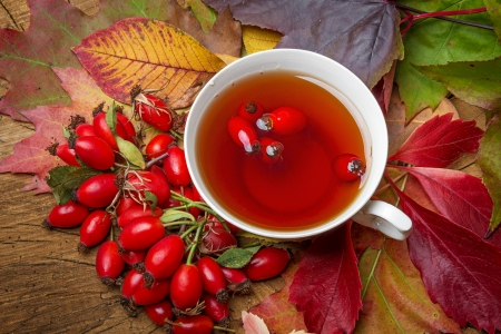 rosehip tea photo