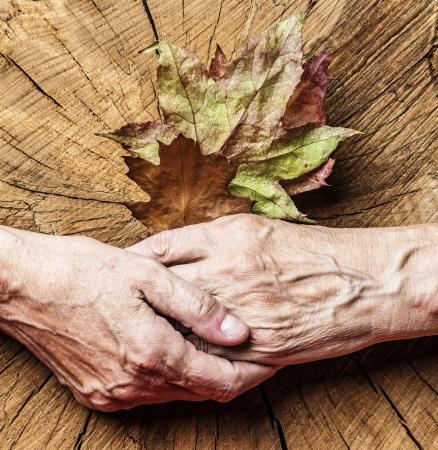 autumn of life - concept photo