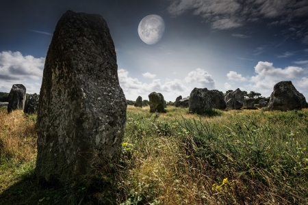 megaliths: megaliths - Carnac in Brittany, France