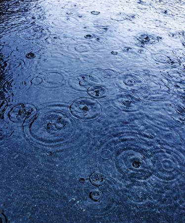 rain Standard-Bild