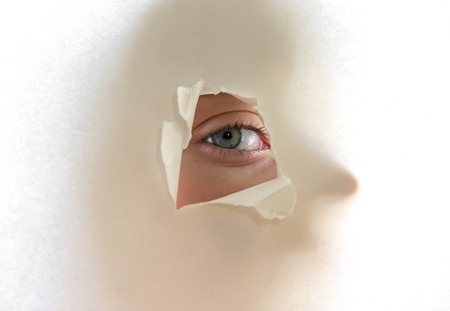 eye and shadow photo