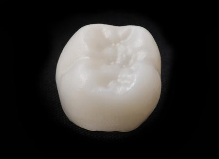 laboratorio dental: dientes de cer�mica en el laboratorio dental