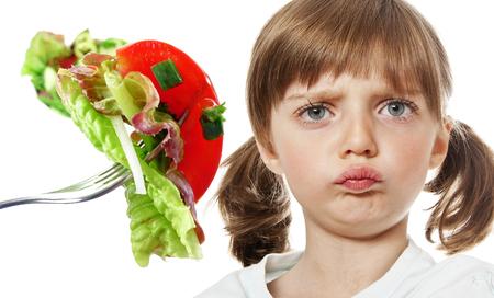 I do not like vegetable Stock Photo