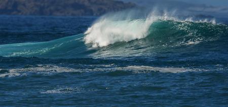 atlantic ocean: big sea wave Stock Photo