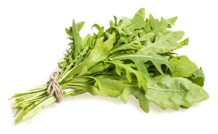 Rucola isolated on a white background