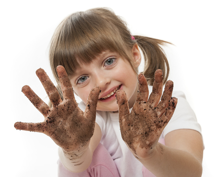 be careful: dirty hands