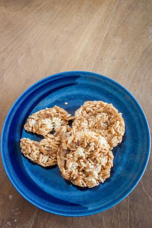 Khao Taen Lanna style thai cookies
