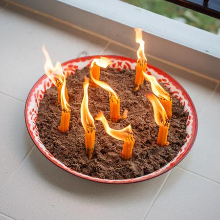 lanna: Lanna Ritual Stock Photo