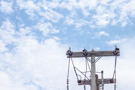 hintergrund himmel: Strommast Himmel Hintergrund haben Wolke Lizenzfreie Bilder