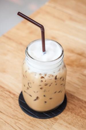 fredo: iced caffè Cappuccino Archivio Fotografico