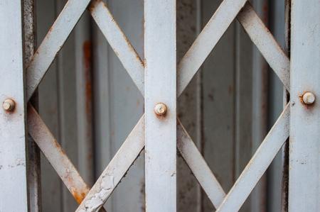 steel door: Steel Door Stock Photo