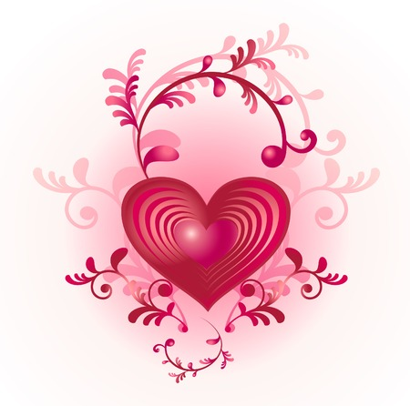 Valentine's day heart Stock Vector - 6435077