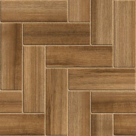 Seamless wooden parquet floor  Stock Photo