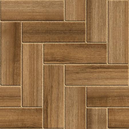 Seamless wooden parquet floor Stock Photo - 9164977