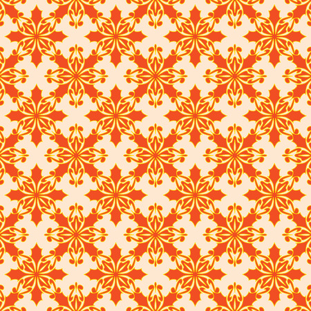Abstract floral seamless pattern. Vector. Illustration