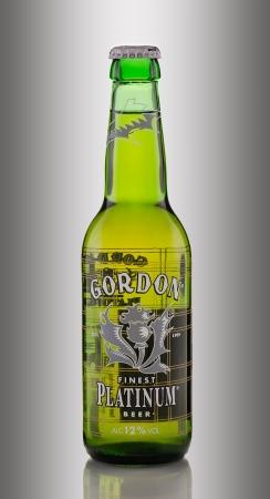 finest: Gordon Finest Platinum Beer Euro Strong Lager