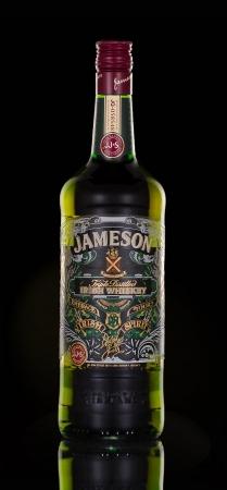 distilled: Jameson Whiskey Triple Distilled blended Irish whiskey