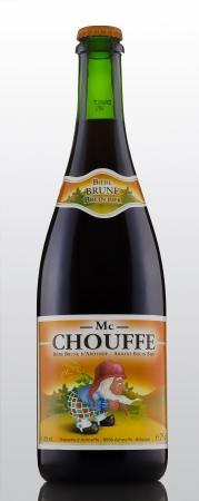 mc: Mc Chouffe a Belgian Strong Ale beer Editorial