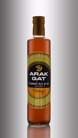 anis: Arak Gat Orange Editorial