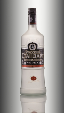 Vodka Russian Standard Editorial