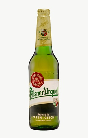 Pilsner Urquell Beer Plzen Czech