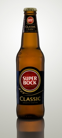 Super Bock Classic Portuguese strong pale lager Editorial