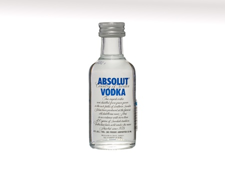 Absolut Vodka 50ml bottle miniature