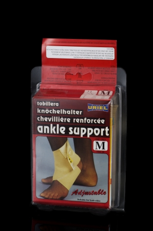 preventing: Ankle support suitable for both sides