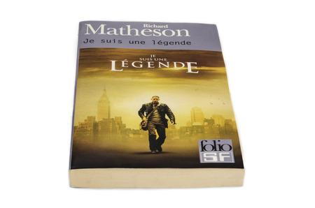 atrocity: Richard Matheson I Am Legend French Edition Editorial