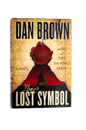 Hardcover Book The Lost Symbol By Dan Brown Stock Photo Picture And