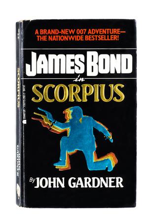utilized: Used paperback Scorpius by John Gardner Editorial