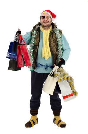 donative: Homeless at Christmas sales Stock Photo
