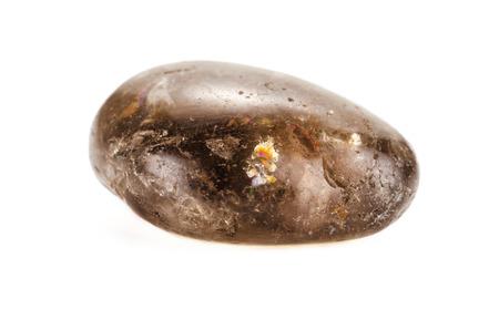 grounding: Smoky quartz is a grounding and stabilizing stone Stock Photo