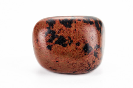 mahogany: Tumbled obsidian mahogany stone