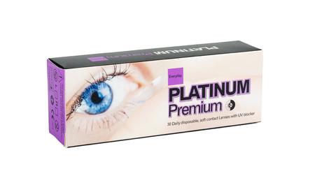 contact lenses: Platinum premium 30 Lentes de contacto desechables diarias Editorial
