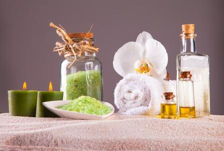 bath and body: spa concept