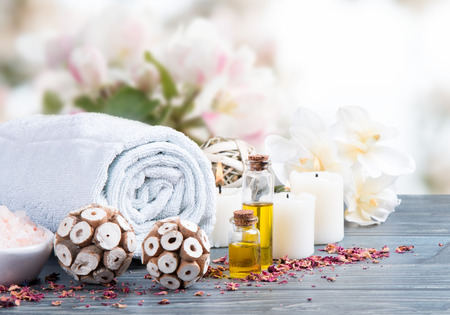 spa massage instelling