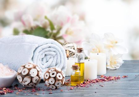 asian bowl: spa massage setting