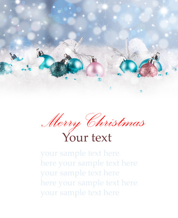 Christmas decoration Holiday background Stock Photo - 46202908