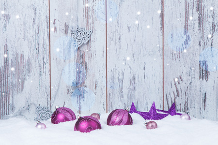 Christmas decoration Holiday background Stock Photo