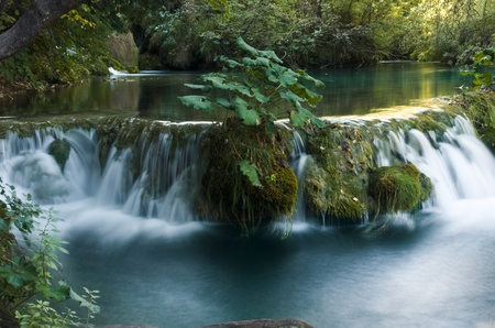 Waterfall Park Plitvice Croatia Stock Photo - 11548903