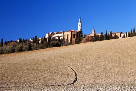 medioeval: Pienza Tuscany Val d