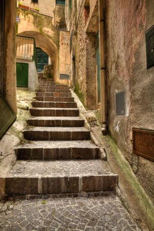 backstreet: Alley Conca dei Marini (SA) italian fishing village