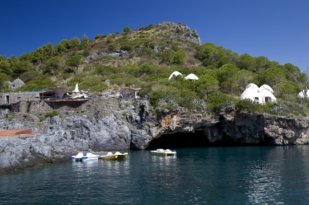 cs: Cave lion ,Dino island, Praia a mare, CS, Italy