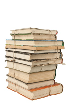 Stack of dusty books Stock Photo - 11926816